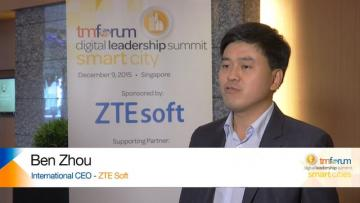 International CEO of ZTE Soft at TM Forum Digital Leadership Summit Singapore
