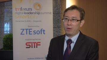 ZTE Soft Industry Solution Officer at TM Forum Digital Leadership Summit Singapore